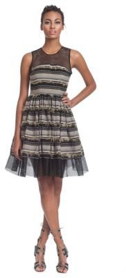 Tracy Reese Sleeveless Striped Dress