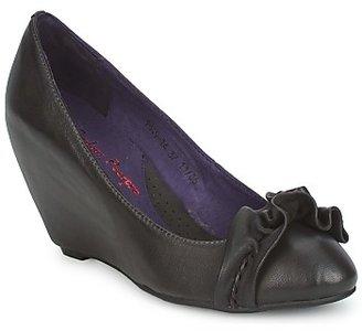 Couleur Pourpre BRIGITTE women's Heels in Grey