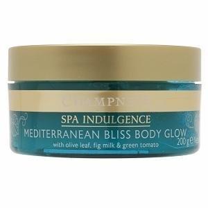 Champneys Mediterranean Bliss Body Glow, Olive Leaf, Fig Milk, Green Tomato