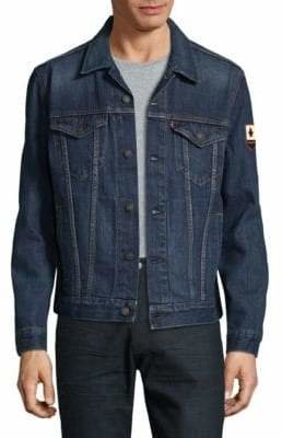 Levi's Canada 150 Patch Trucker Jacket