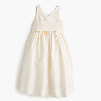 J.Crew Girls' Avery dress in silk taffeta