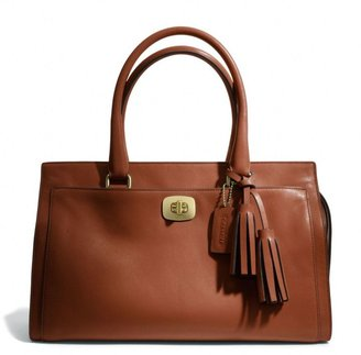 Coach Legacy Chelsea Carryall In Leather