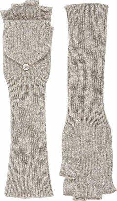 Barneys New York Women's Fingerless Convertible Mittens