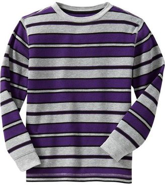 Old Navy Boys Striped Waffle-Knit Tees