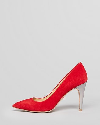 Diane von Furstenberg Pointed Toe Pumps - Anette High Heel
