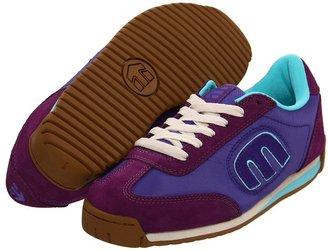 Etnies Lo-Cut II W (Purple (Suede/Nylon)) - Footwear