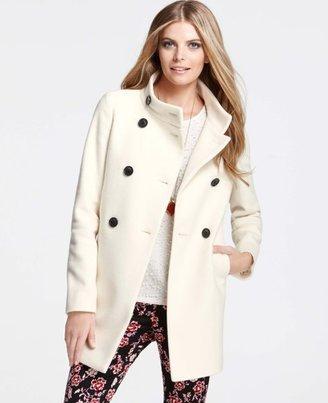 Ann Taylor Wool Blend Palais Royal Coat