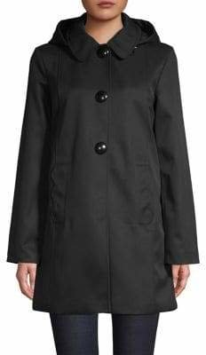 Kate Spade Peter Pan Collar Snap Coat