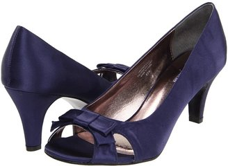 Bouquets Alessa (Navy Satin) - Footwear