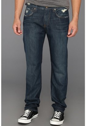 7 For All Mankind The Straight in Phoenix River Blue (Phoenix River Blue) - Apparel