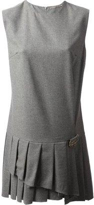 Ermanno Scervino pleat detail shift dress