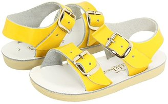 Salt Water Sandal by Hoy Shoes Sun-San - Sea Wees (Infant/Toddler) (Shiny Yellow) Girls Shoes