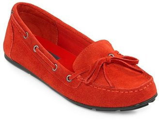 JCPenney St. John's Bay Cammie Suede Moccasins