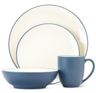 Noritake Colorwave Blue Coupe 4-Piece Place Setting