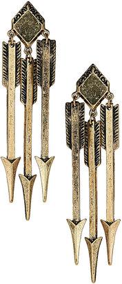 Topshop Arrow Drop Earrings