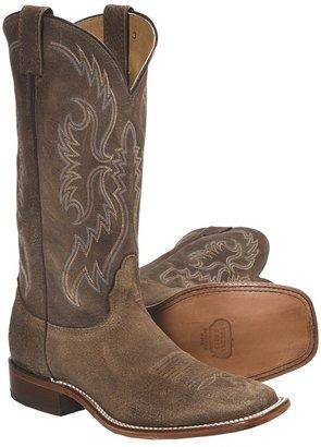 Nocona Arena Gaucho Vintage Cracked Cowhide Cowboy Boots - Square Toe, Walking Heel (For Men)