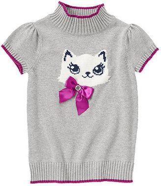 Gymboree Gem Bow Kitty Sweater