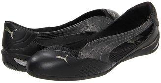 Puma Winning Diva Ballerina (Black/Black) - Footwear