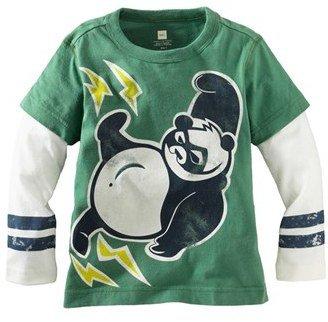 Tea Collection 'Super Panda Double Decker' T-Shirt (Toddler Boys)