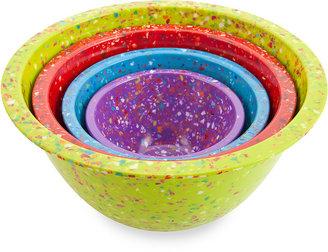 Zak Designs Zak! Designs® Confetti 4-Piece Assorted Mixing Bowl Set