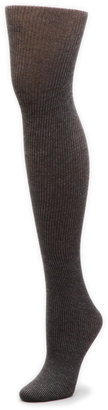 Hue Classic Rib Tights with Control Top