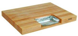 """John Boos & Co.® Maple Edge-Grain Newton Prep Master Cutting Board, 24"""" x 18"""" x 21⁄4"""""""