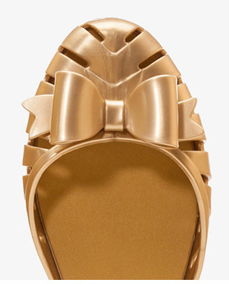 Forever 21 Mel for Metallic Cutout Jellies