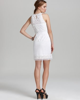 Milly Peplum Dress - Mia Laser Cut