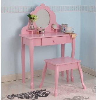 Kid Kraft Diva Vanity & Stool Set - Pink