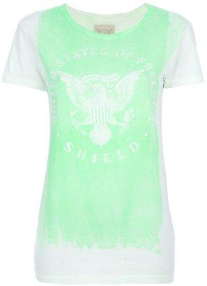 Shield Denim printed t-shirt