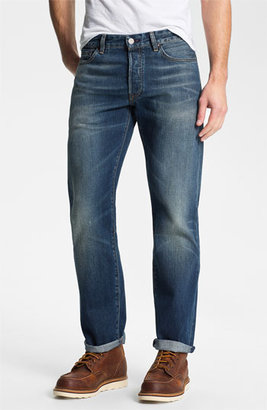 Levi's Made & CraftedTM 'Ruler' Straight Leg Jeans (Sparkling)