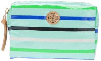 Tory Burch striped make up bag
