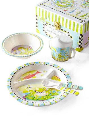 Mackenzie Childs MacKenzie-Childs Frog Toddler Dinnerware Set