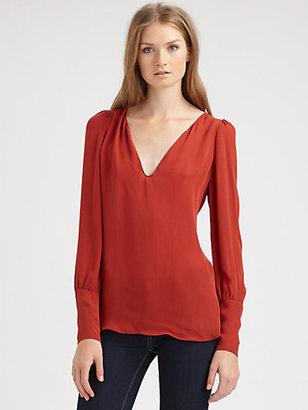 Chelsea Flower Silk Tunic