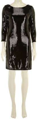 Dorothy Perkins Black sequin dress
