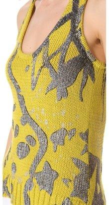 Kelly Wearstler Metallic Knit Tank
