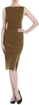 Diane von Furstenberg Emelda Ponte Dress, Thistle