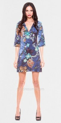 Julian Chang Abigail V Neck Casual Dresses