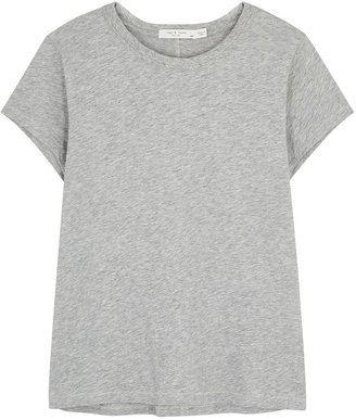 Rag & Bone The Tee Grey Cotton T-shirt