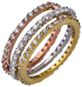 Max & Chloe Collection III CZ Stackable Eternity Ring