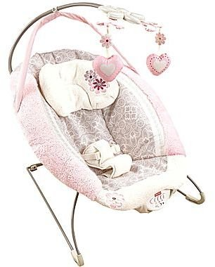 Fisher-Price My Little SweetieTM Deluxe Infant Bouncer