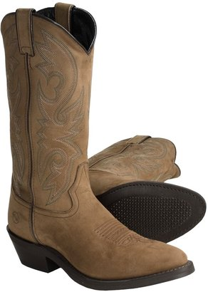 Double H Work Western Crazy Horse Cowboy Boots - R-Toe (For Men)