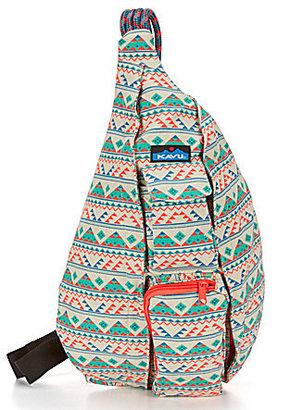 Kavu Printed Rope Messenger Bag $50 thestylecure.com