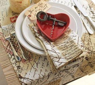 Pottery Barn Love Letter Table Runner
