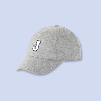 Jacadi Gingham trimmed baseball cap