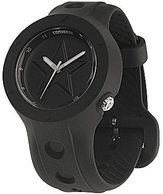 Converse Rookie Black Silicone Watch