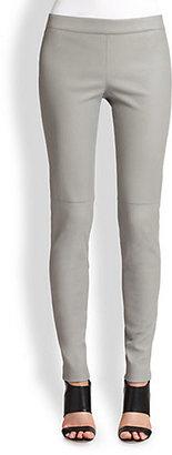 Elie Tahari Leather Nova Pants