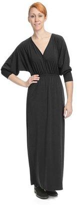 Lilla P Stretch V-Neck Maxi Dress - Long Dolman Sleeve (For Women)