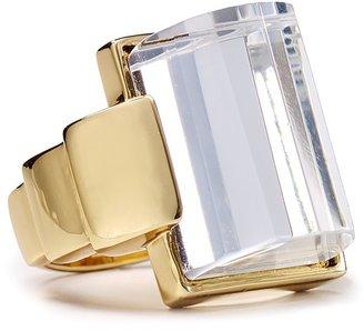Rachel Zoe Faceted Deco Ring
