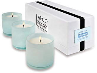 Lafco Inc. Bathroom Mini Candle Trio/Marine